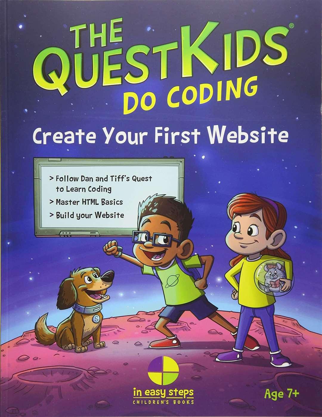 The QuestKids do Coding - Créez votre premier site Web par Darryl Bartlett, Paul Aldridge et Ben Barter (43297293)