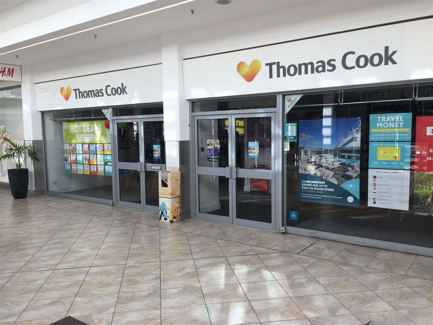 Thomas Cook stores sold to Hays Travel