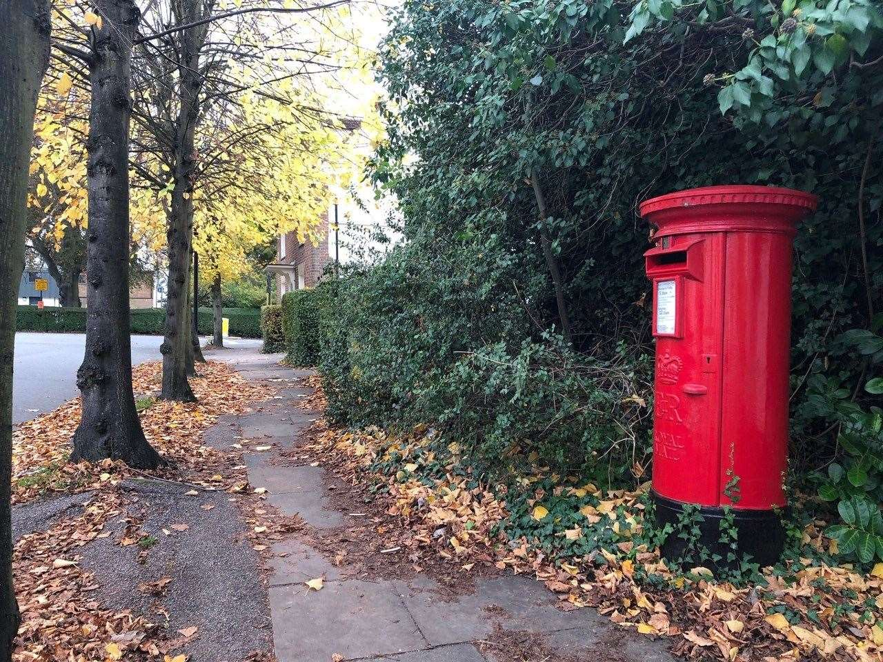 Royal Mail says there is another postbox about 500 yards' walk away in the town centre