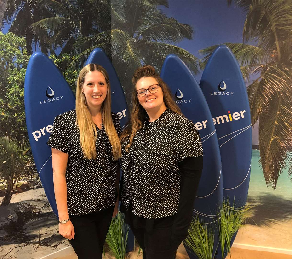 Natasha Walker and Nicola Lotts have joined Premier Travel in Bishop's Stortford after losing their jobs at Thomas Cook