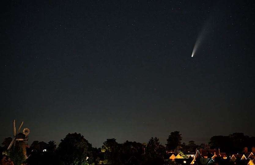 LOOK UP: Comet NEOWISE offers generational nighttime show