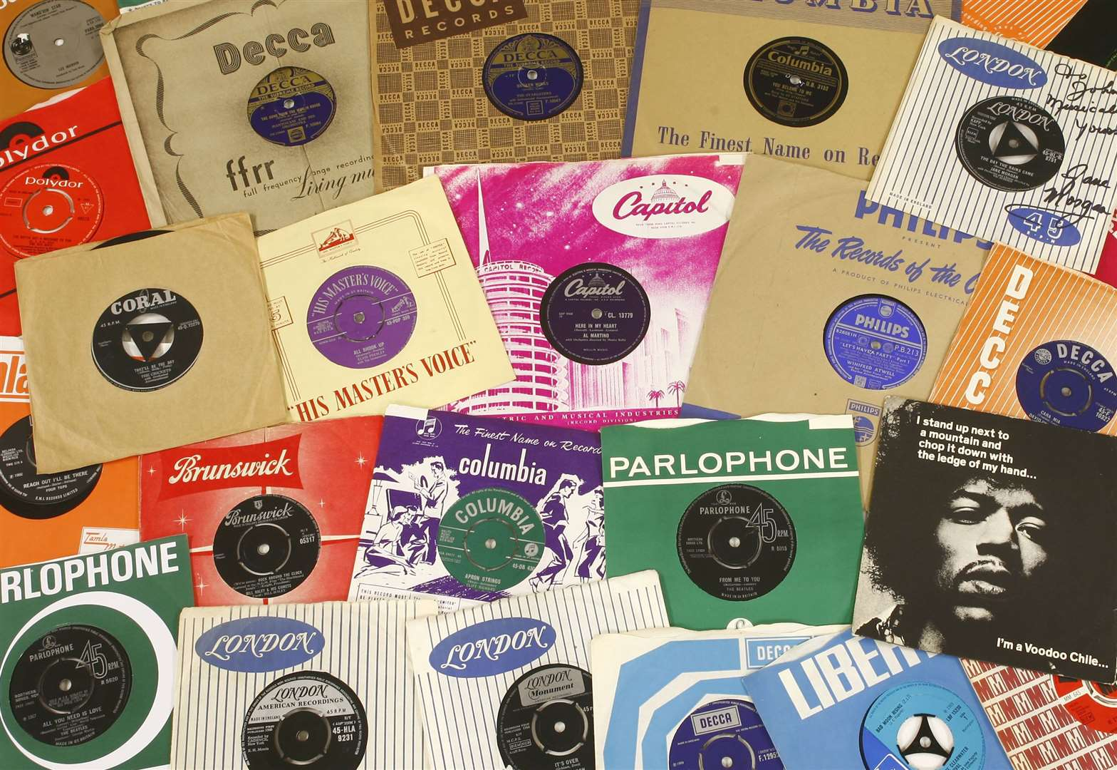 Vinyl countdown: Sworders to sell Essex man's collection of every No 1 single over 40-year period