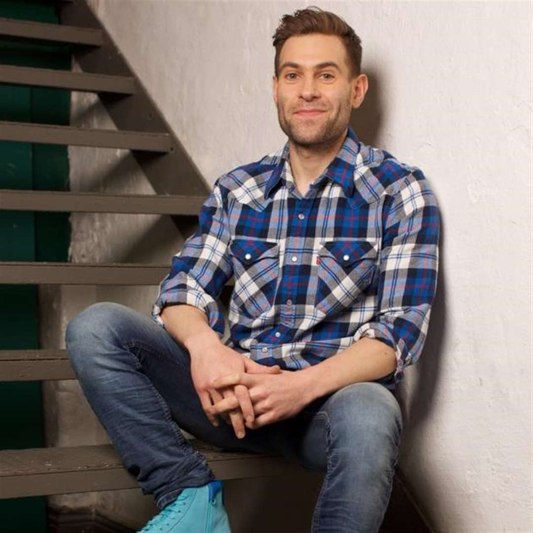 Simon Brodkin, the well good prankster, headlines Dunmow Comedy Club