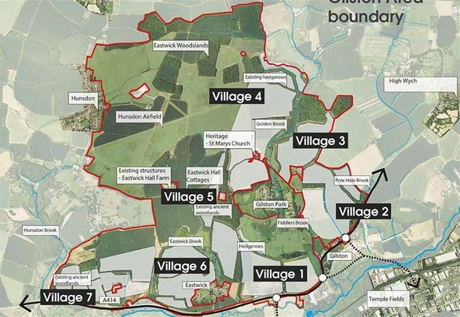East Herts ponders plans for 10,000 new homes on border with Harlow