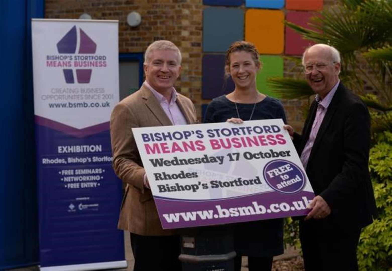 Chocolate and champagne to be won at free Bishop's Stortford Means Business event at Rhodes