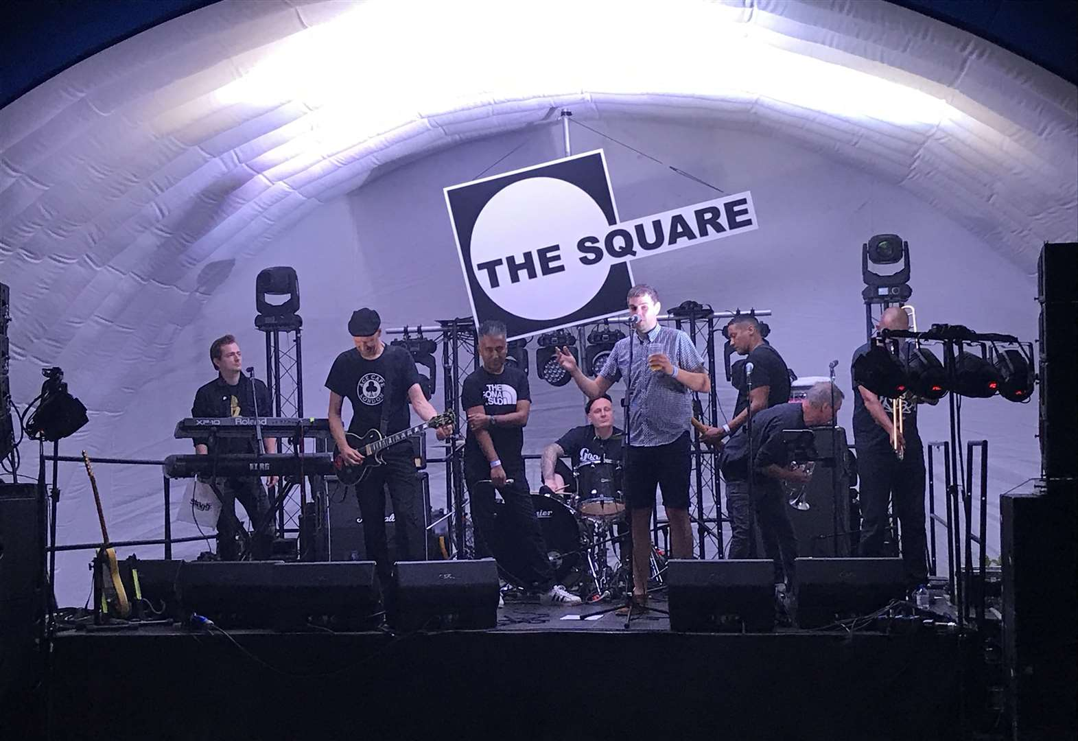 The Square's summer reunion party is an out-of-venue experience