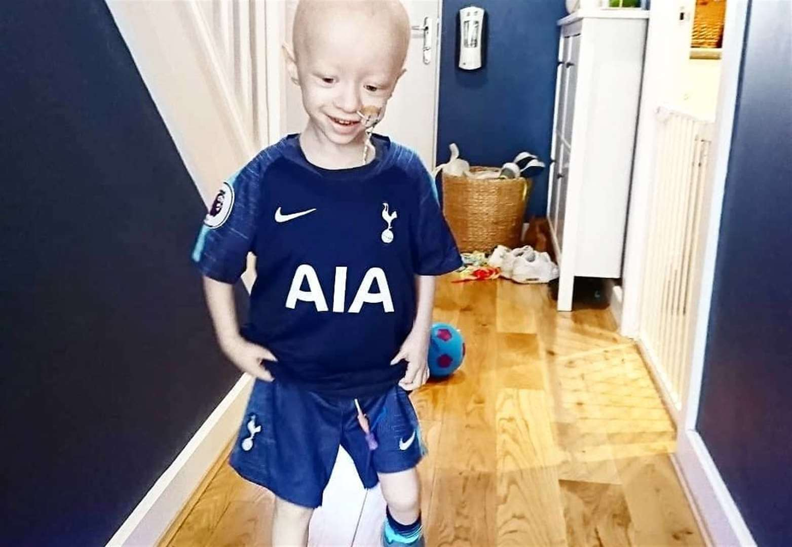 Harry Kane boosts £200,000 appeal for three-year-old Archie's cancer treatment fund
