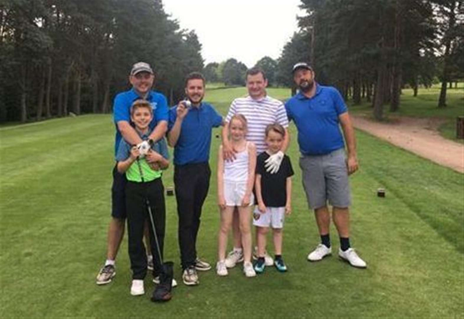Stortford golfing buddies take on 72-hole challenge for Macmillan Cancer Support