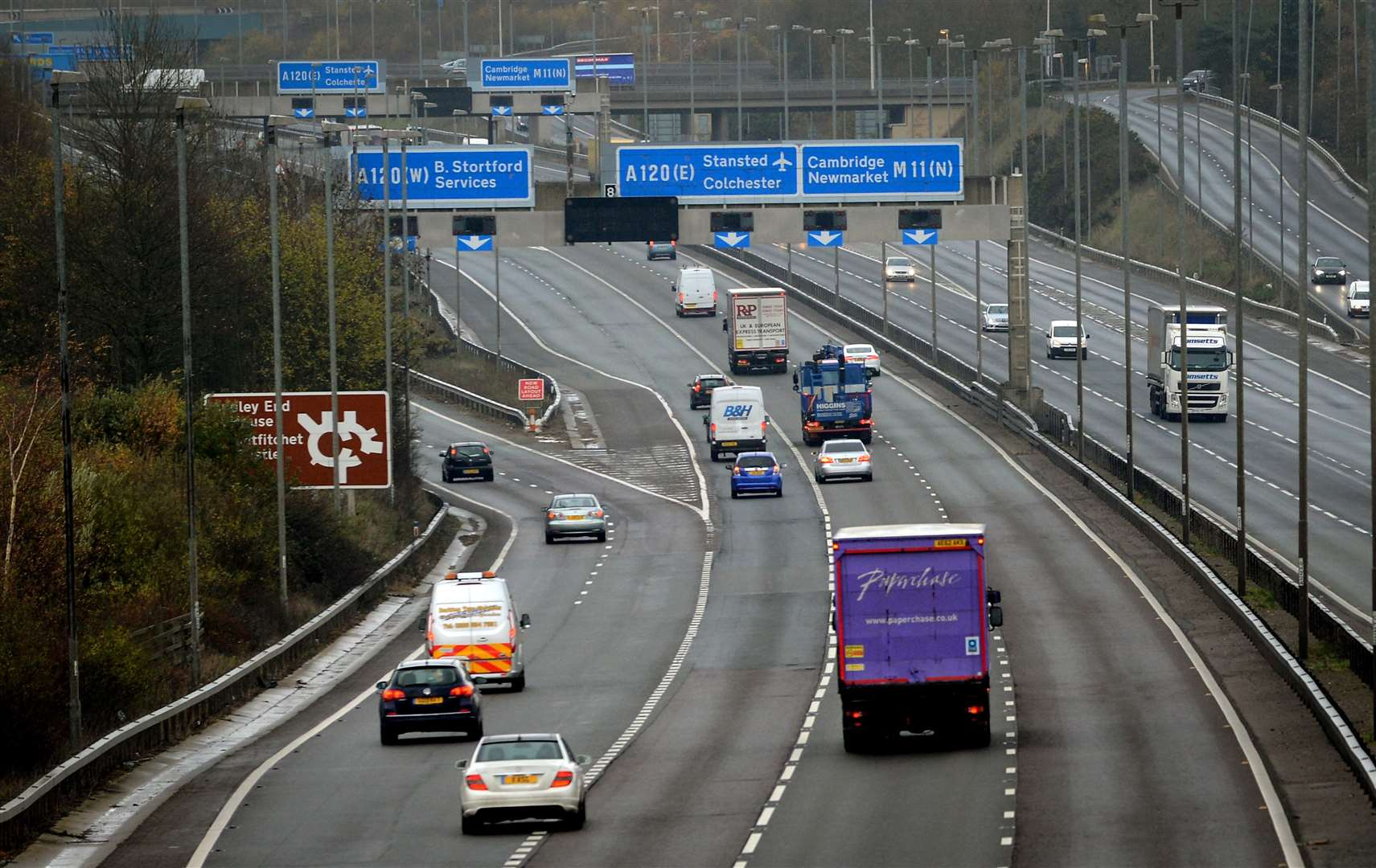 BMW owner admits driving on hard shoulder of M11 before crash with Mini
