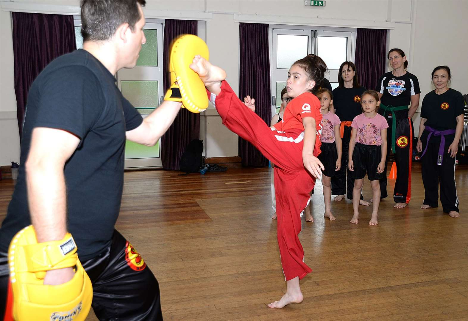 Karate school offers free self-defence classes after spate of incidents