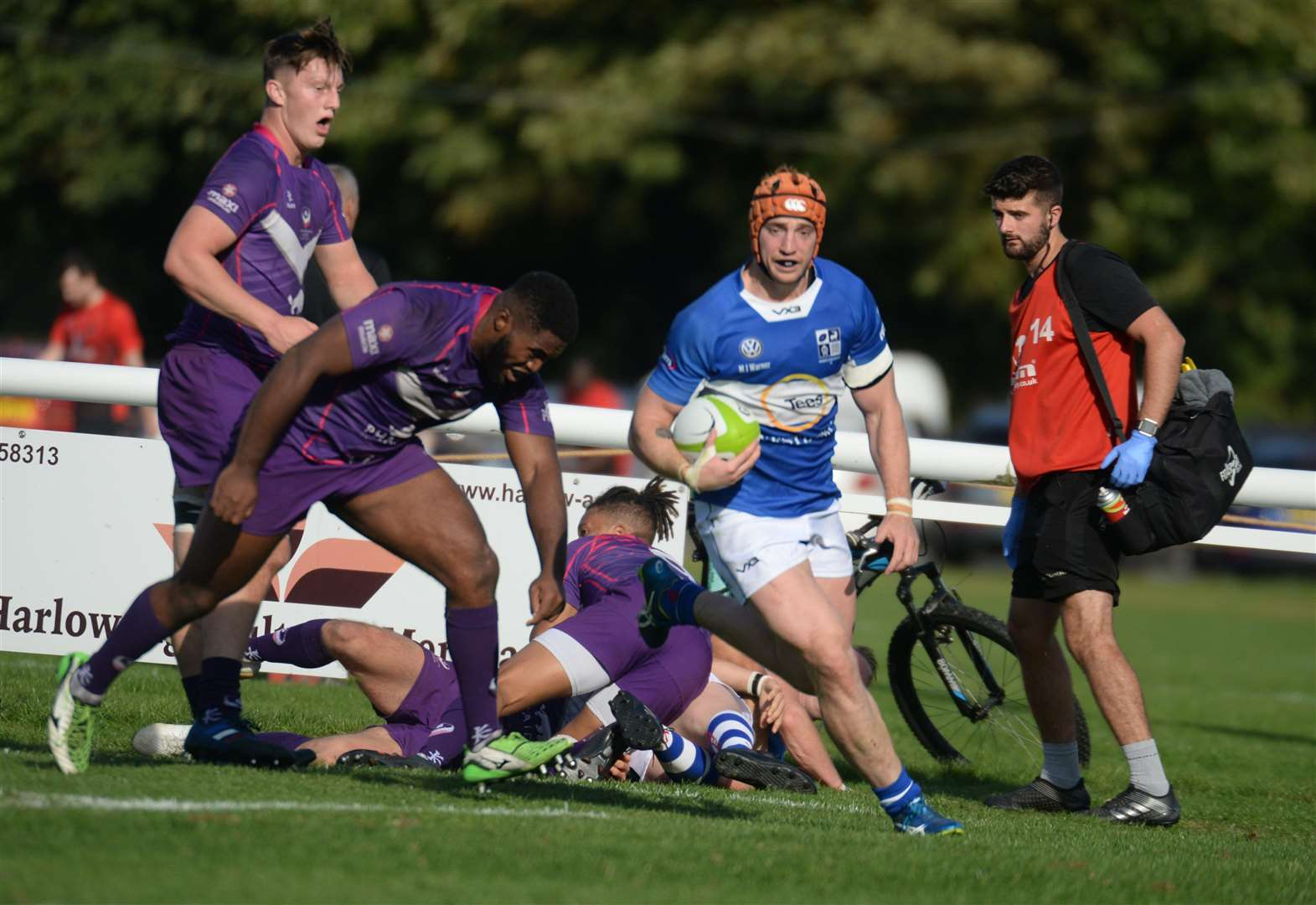Losing bonus point proves elusive for battling Stortford