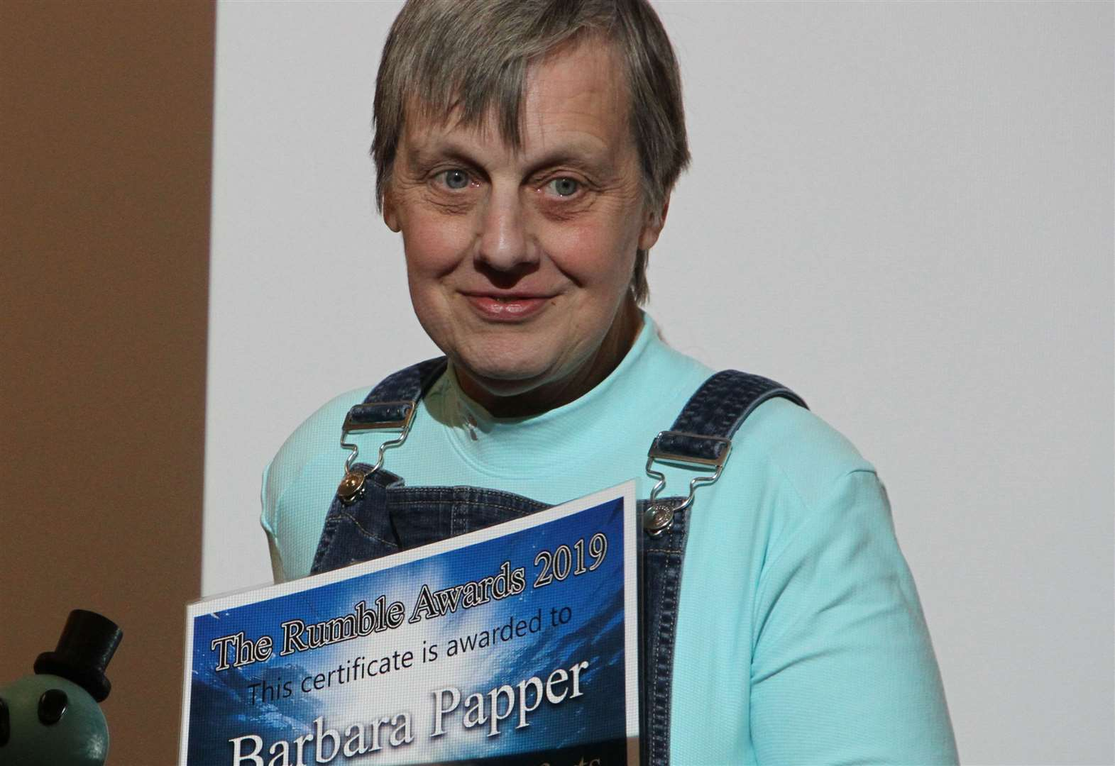 Learning difficulties award for 'leading light' Barbara Papper