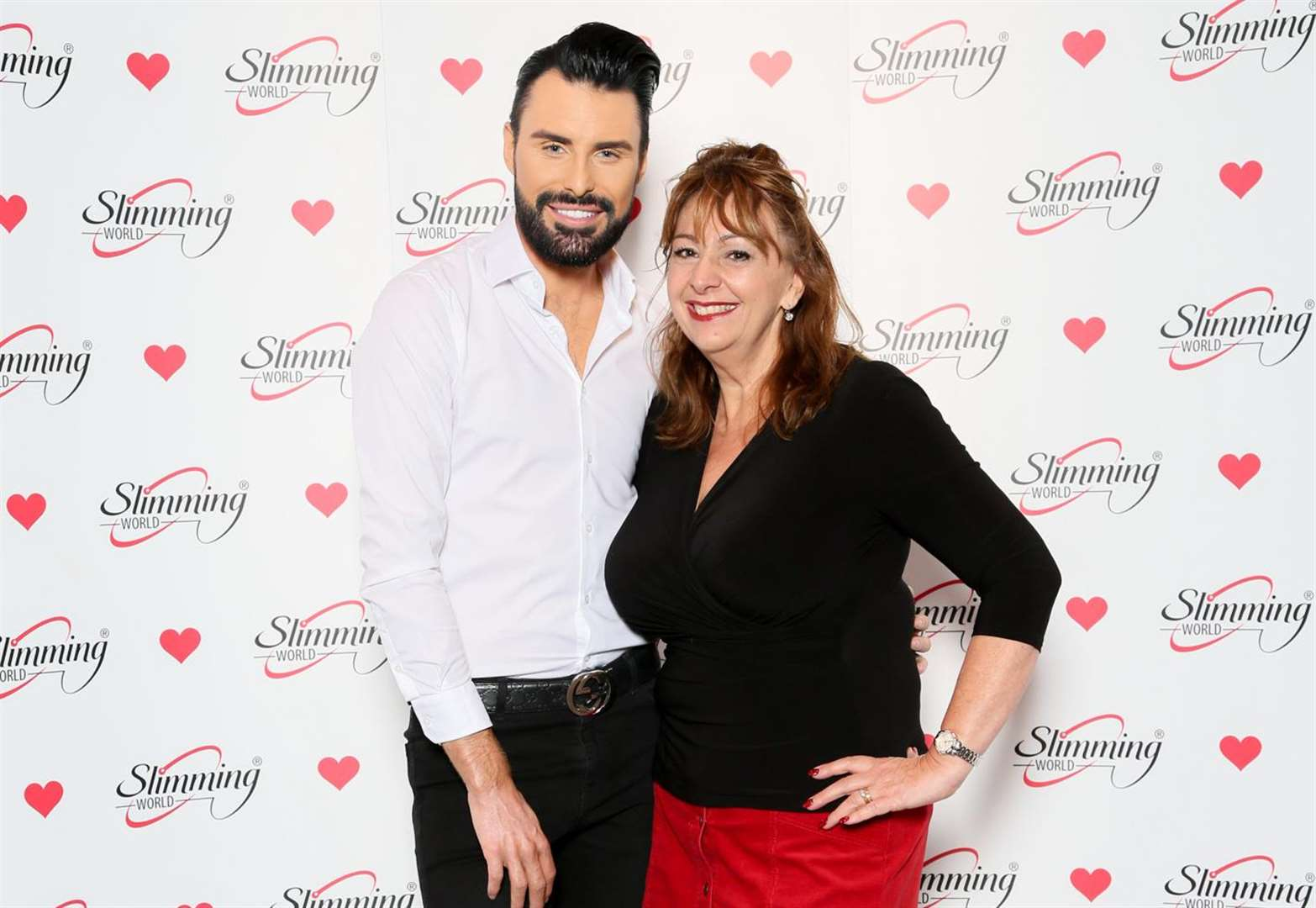 Slimming World consultant from Stortford enjoys brush with TV celebrity