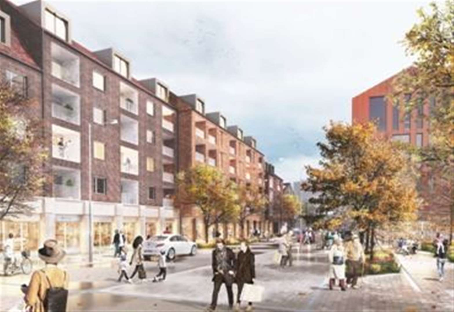 Second phase of flats to be built at Bishop's Stortford Goods Yard