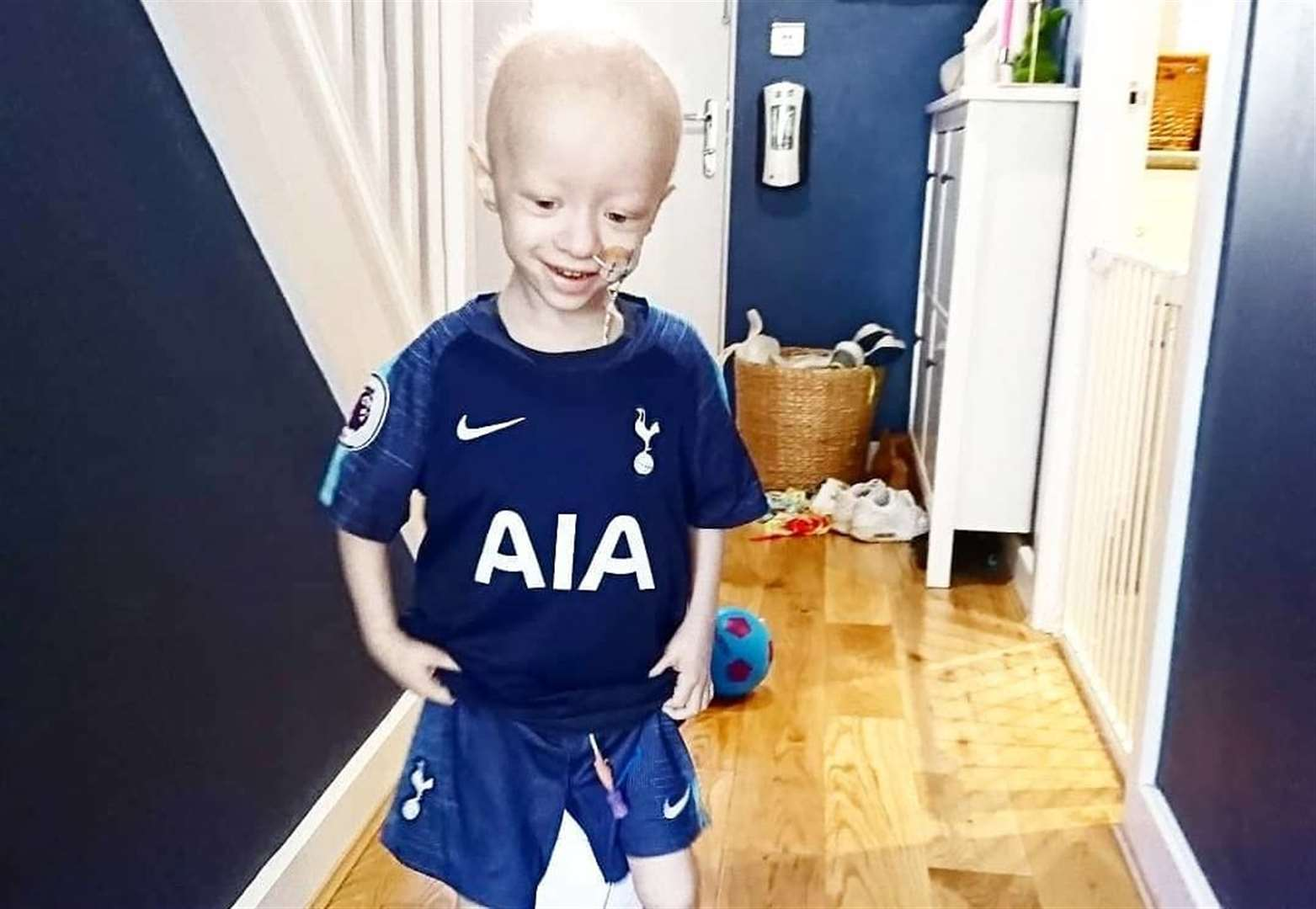 Gin tasting and celebrity football to boost £200,000 appeal for cancer toddler
