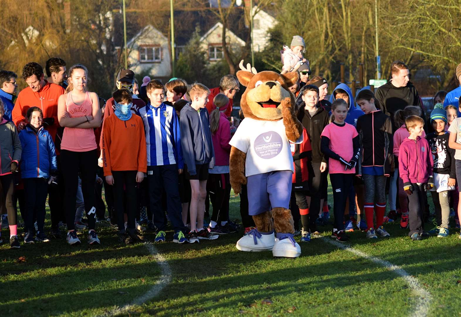 Juniors out of the blocks for new parkrun