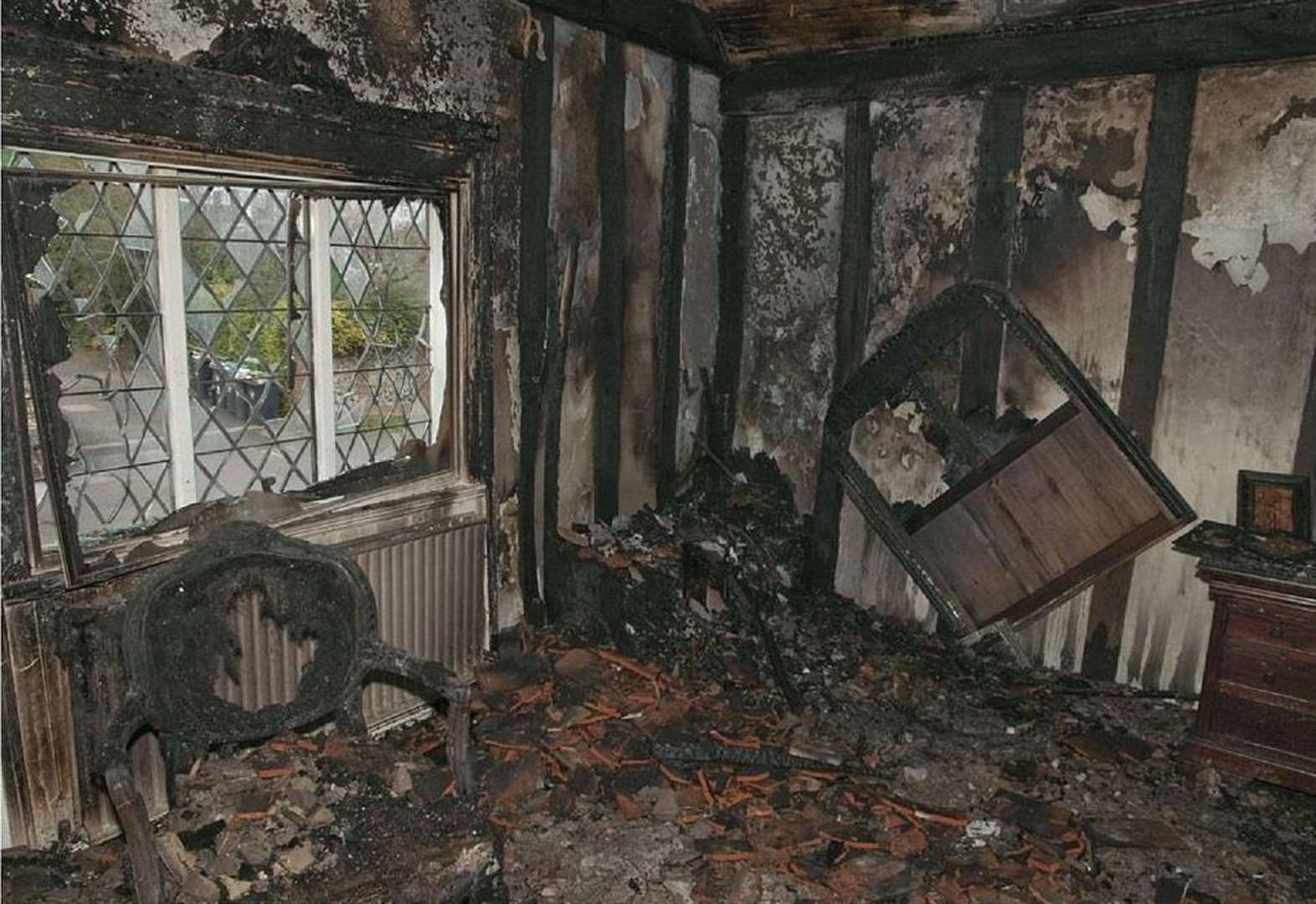 Arsonist's 'act of vengeance' caused £1.7m damage to 700-year-old house