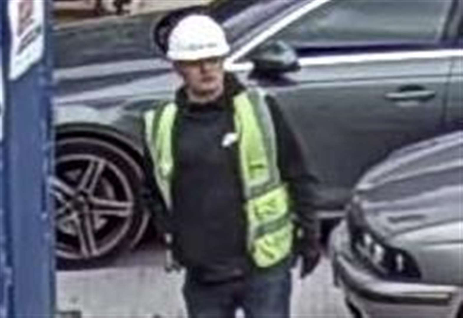 Great Hallingbury theft: Have you seen this man?