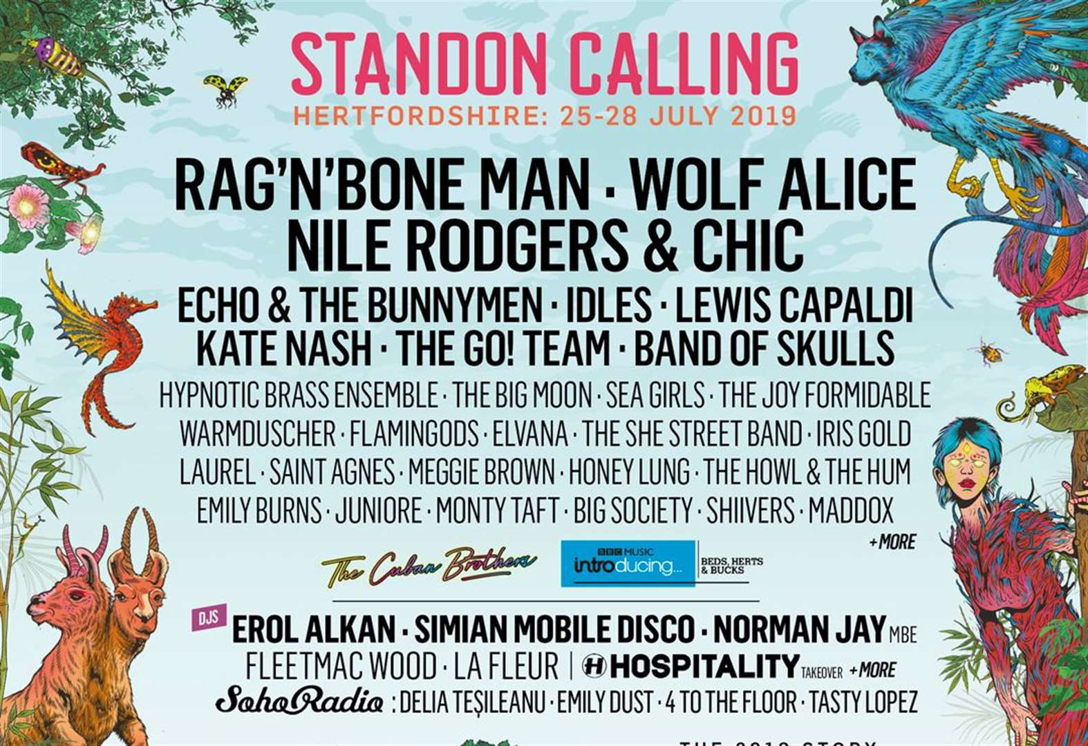 The Japanese House, Annabel Allum and Maven Grace turn up the heat for this summer's Standon Calling