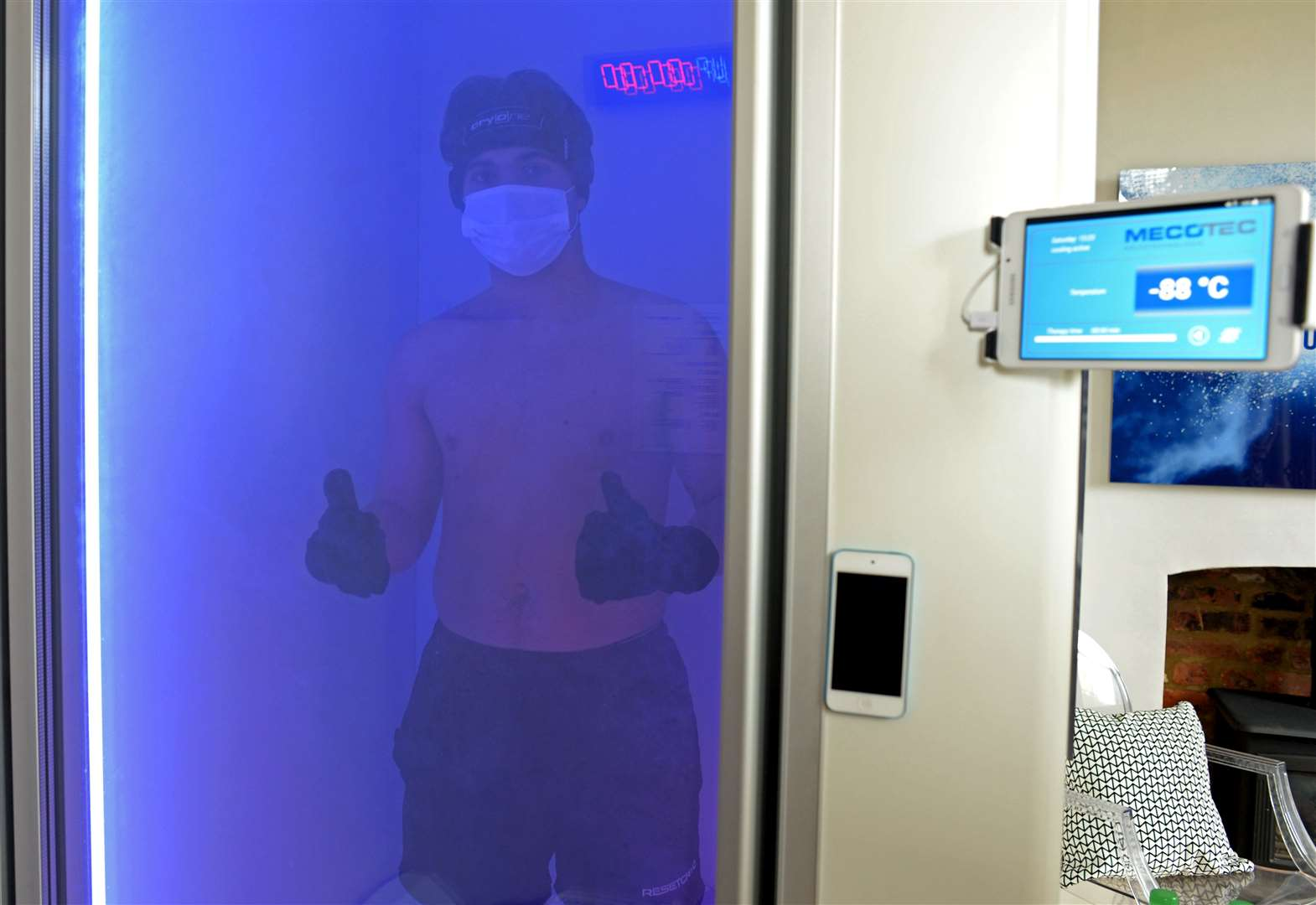 Sawbridgeworth health and beauty place offers the coolest treatments... as cool as -90C!