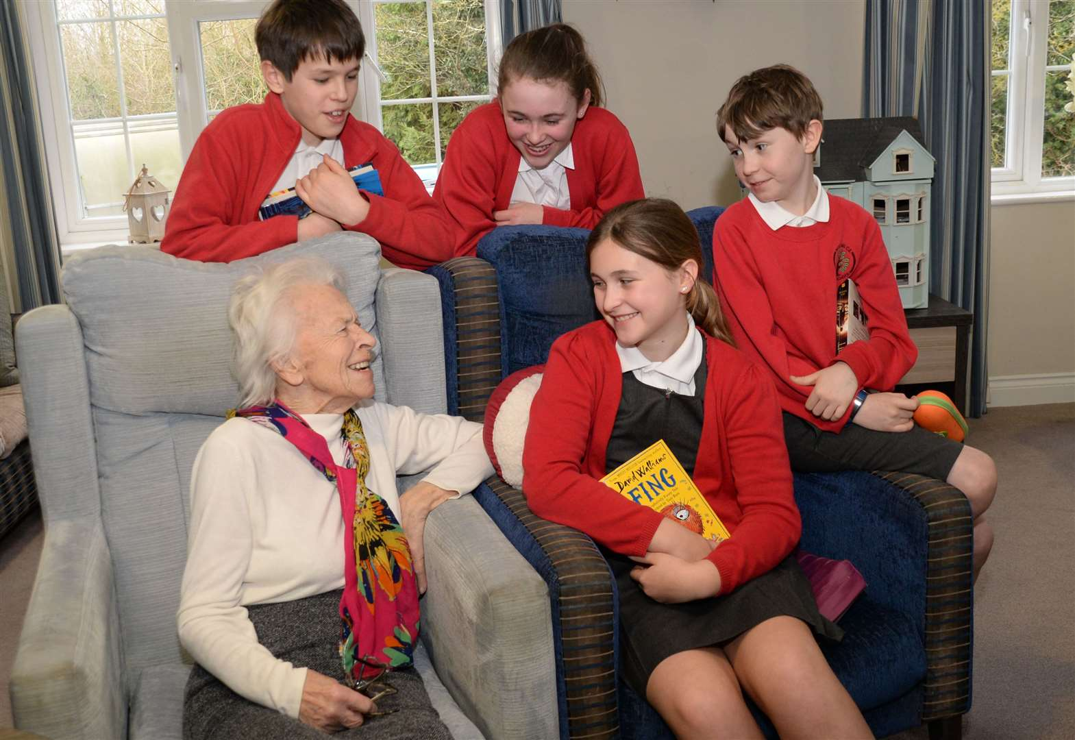 Pupils' visits to Stansted care home are forging lasting friendships