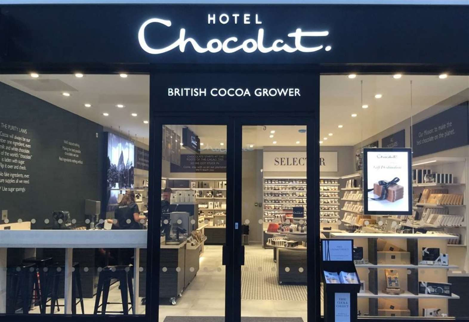 Goody bags and free samples for first Hotel Chocolat customers