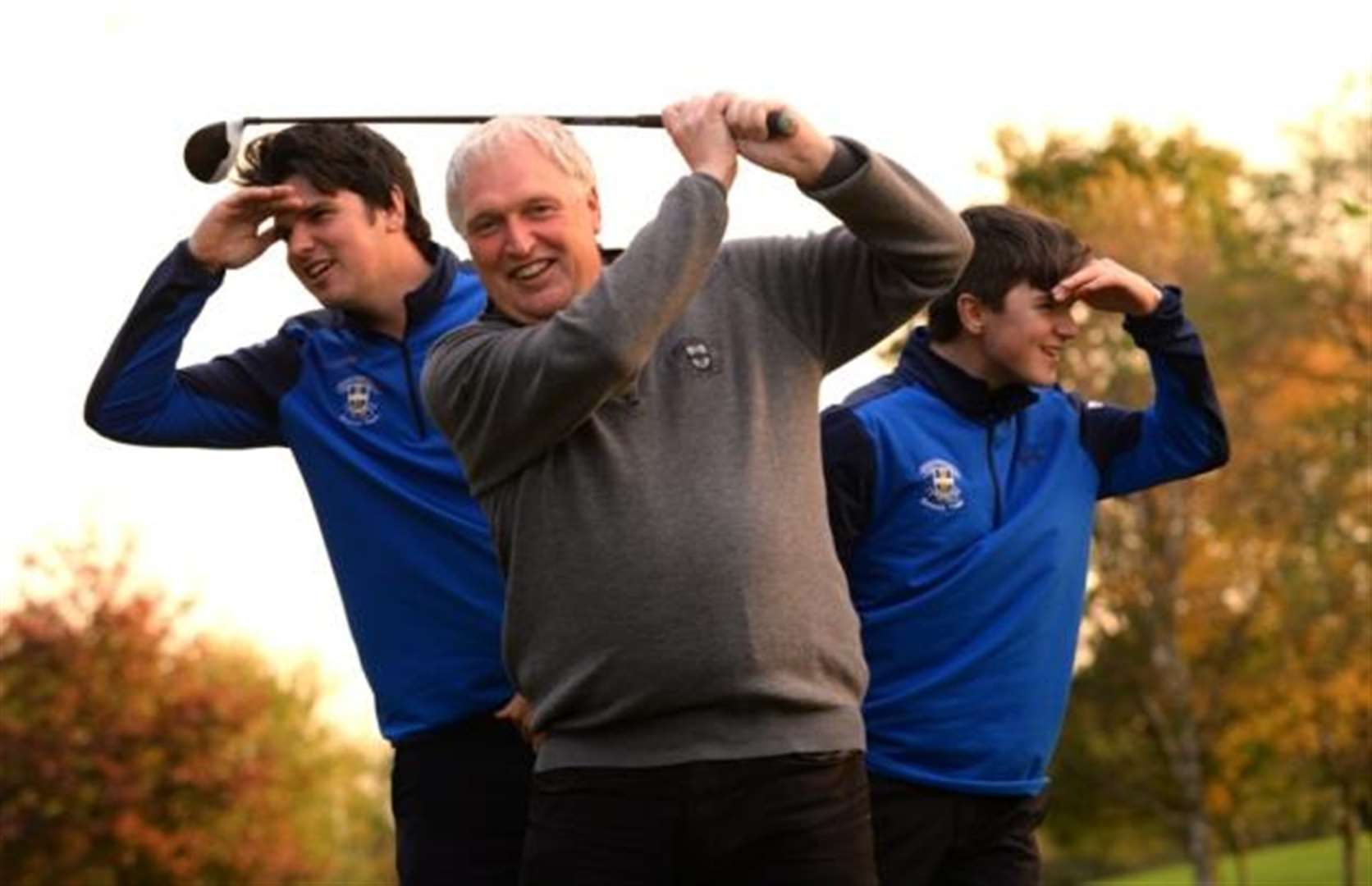 The Stortford golfing brothers who leave their 8-handicapper dad in the shade