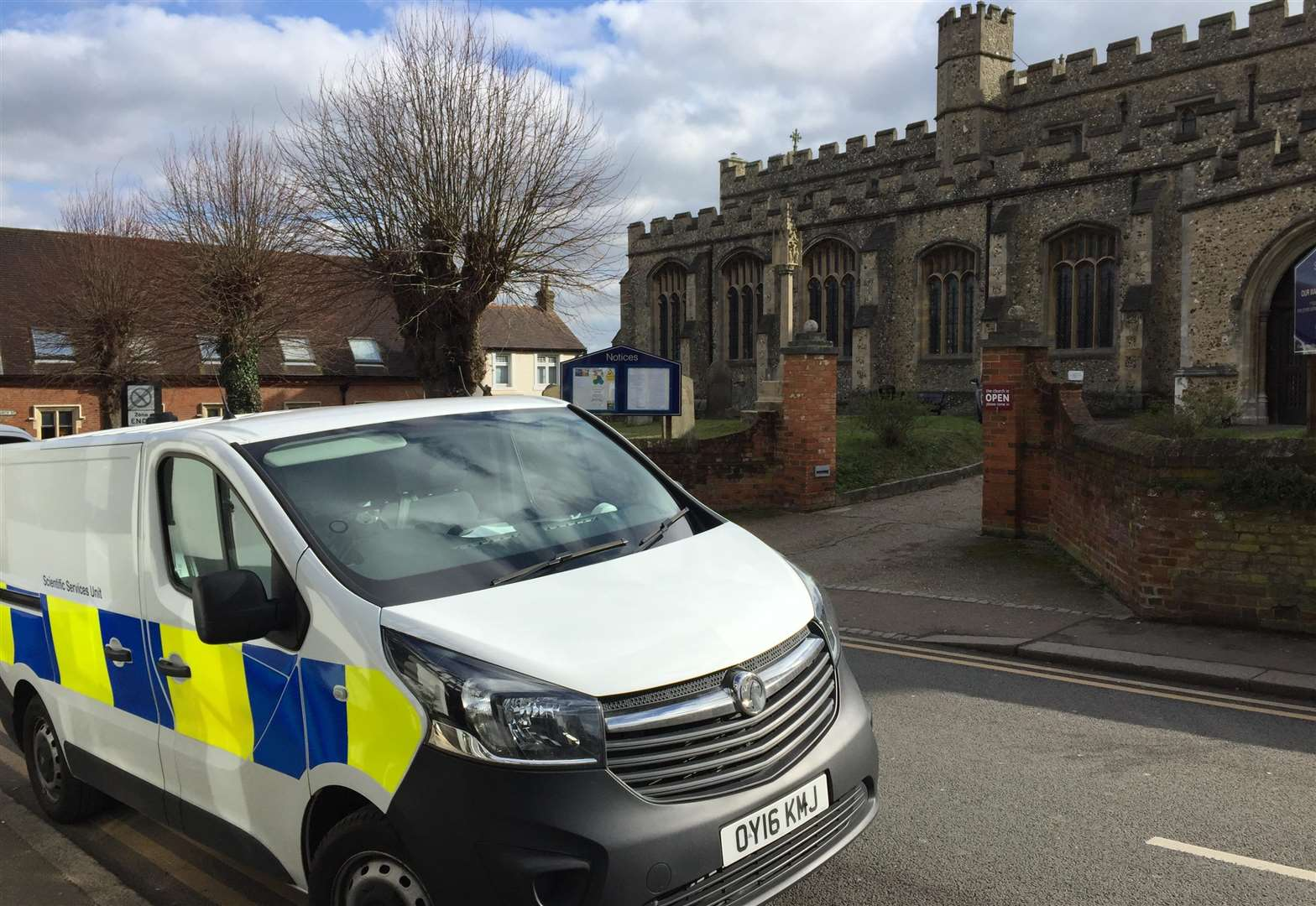 Raiders smash stained glass window in St Michael's Church break-in