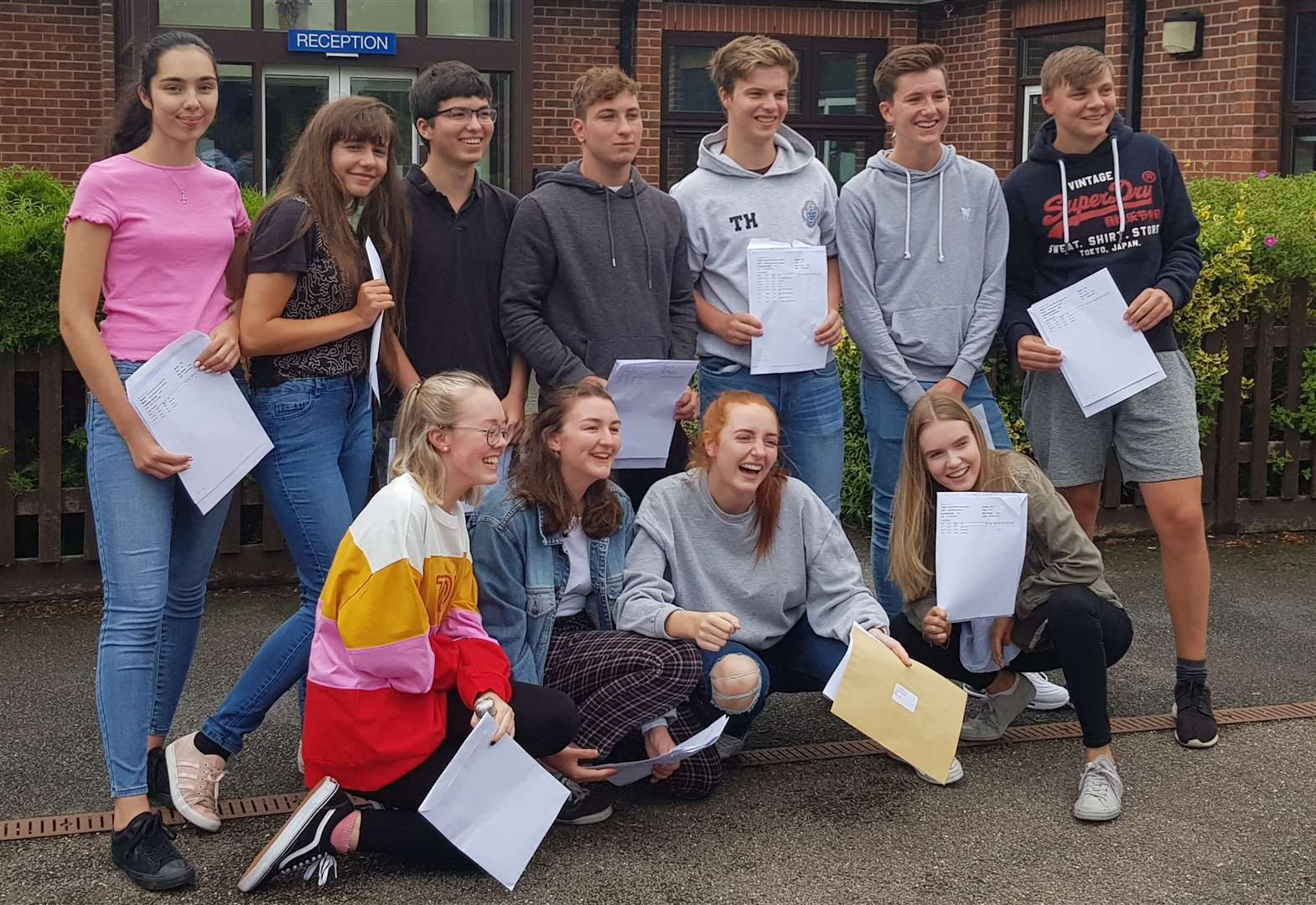 Maddie the A-Level star as St Mary's head hails 'magnificent' set of results