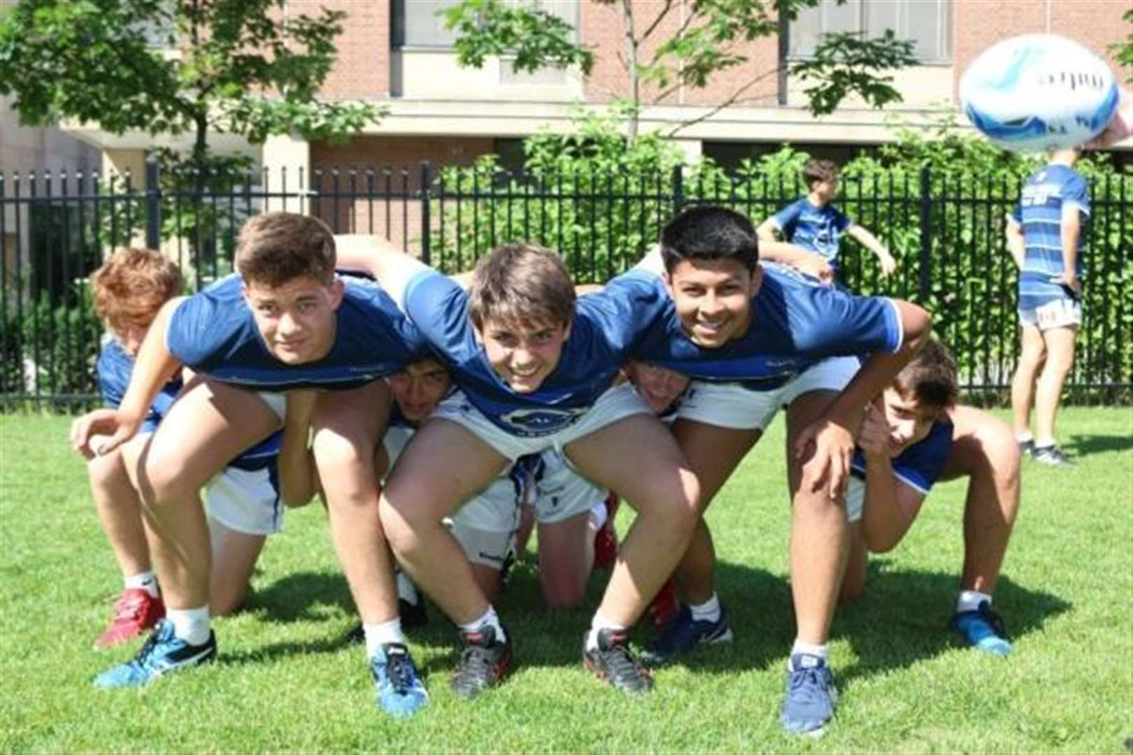 Hockerill students relish rugby tour to Canada