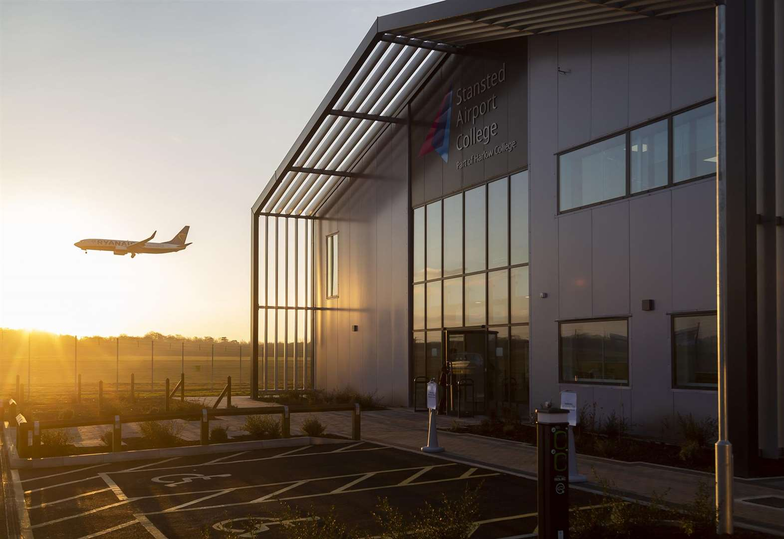 Stansted Airport College takes off