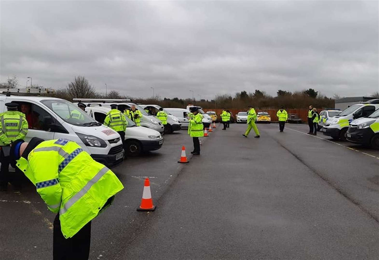 Disqualified driver arrested in Bishop's Stortford during multi-agency op