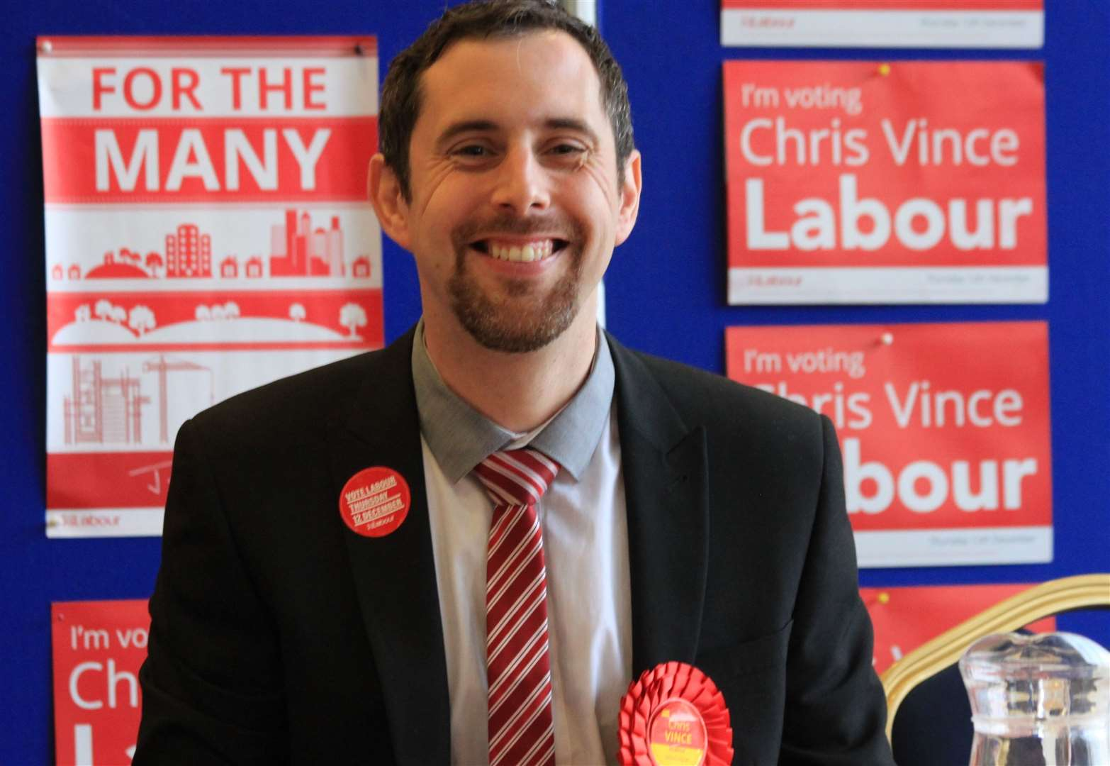 Labour candidate for Stortford sets out pro-Remain stance at campaign launch