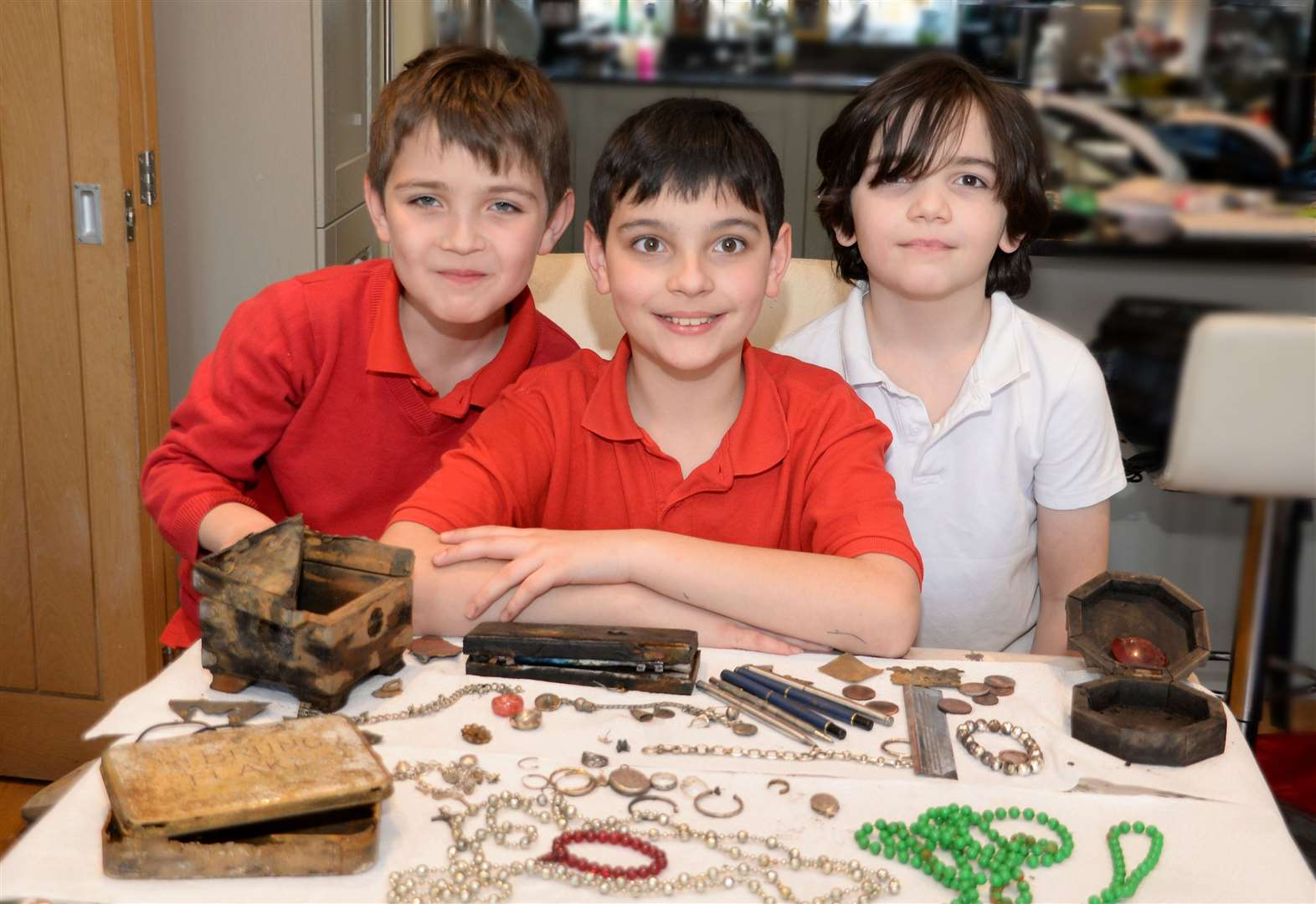 Bishop's Stortford brothers find 'stolen treasure' while out for a family walk in Much Hadham