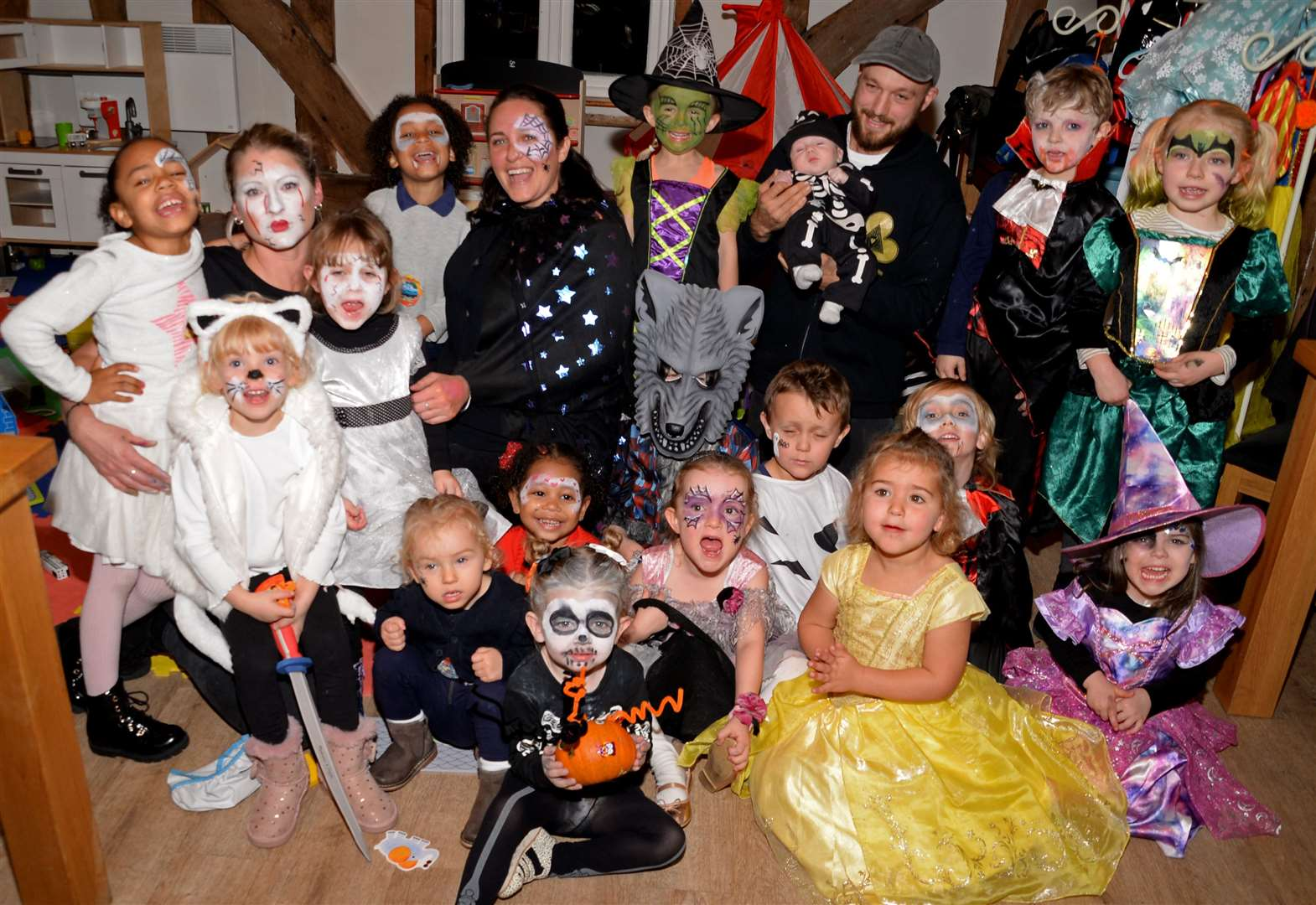 Spectacular spooky party is ghoulish fun for youngsters