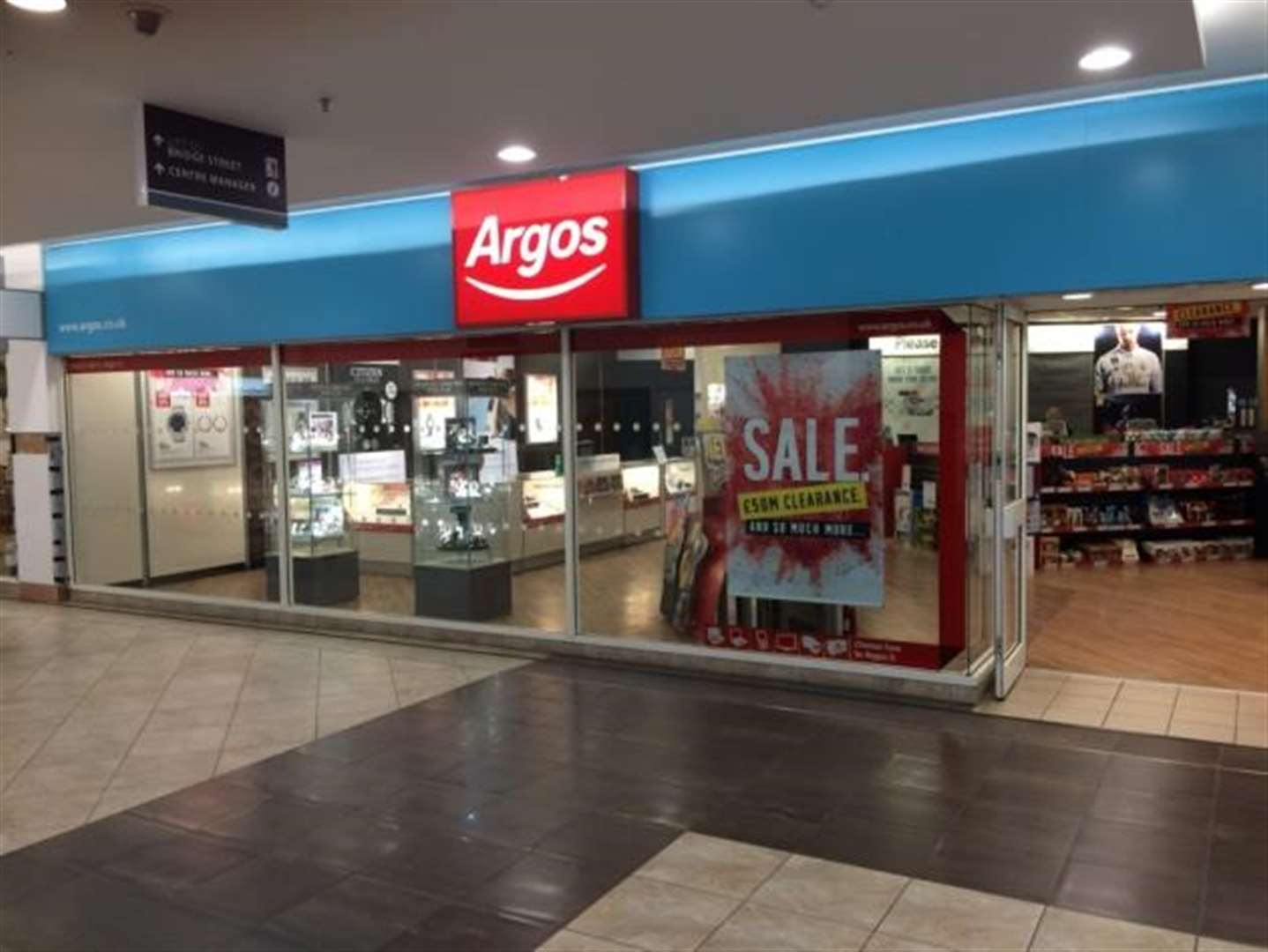 Argos to vacate its Bishop's Stortford store