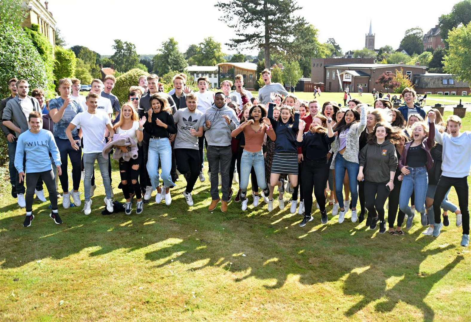 Bishop's Stortford College's 120 A-Level students celebrate 100% pass rate