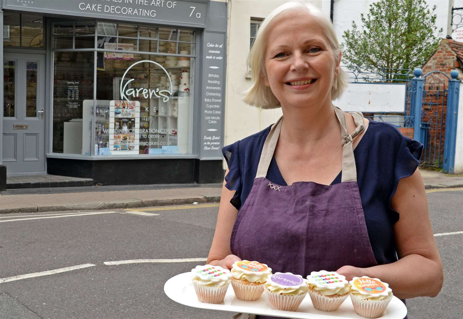 Karen's cupcakes offer to Bishop's Stortford's charity 'superheroes'