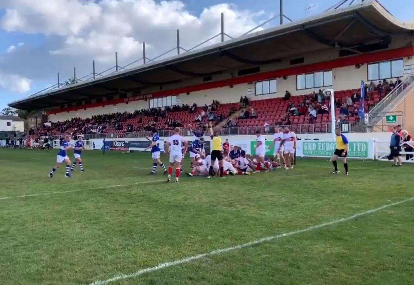 Stortford come from 21-0 down to edge 82-point thriller at Plymouth