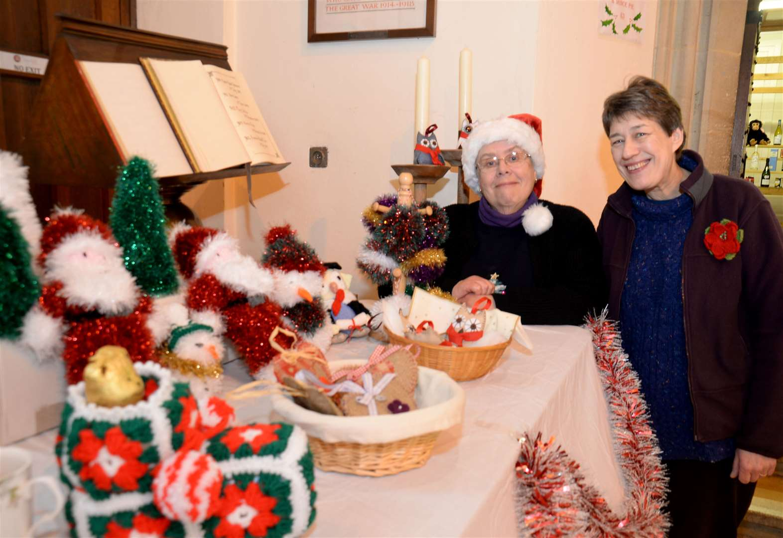 Christmas bazaar helps Stortford churchgoers to see the light