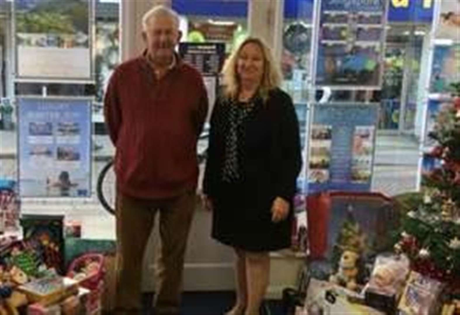Big response to Stortford business's Christmas gift appeal for kids in care