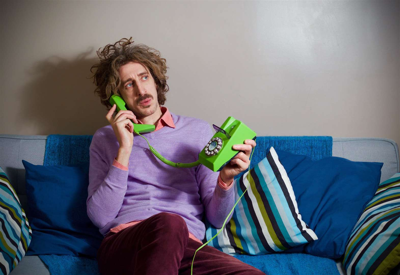 Hang-Ups star Tom Wrigglesworth keeping comedy in the family