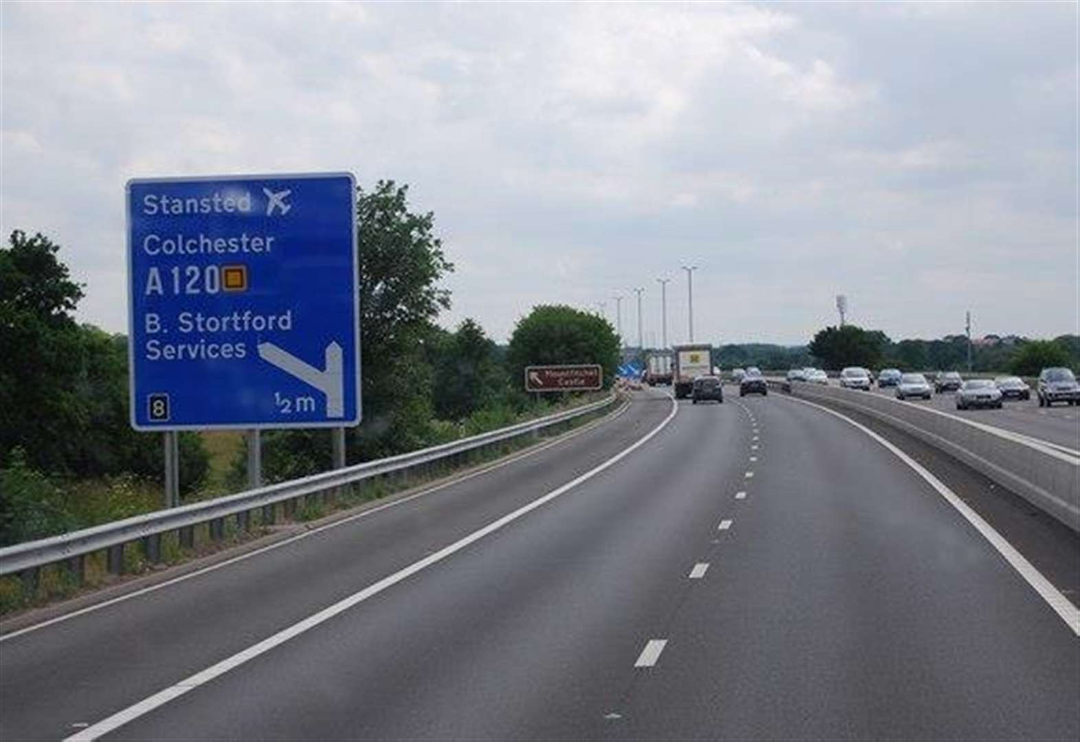 M11 fatal hit-and-run near Stortford: Man arrested on suspicion of dangerous driving