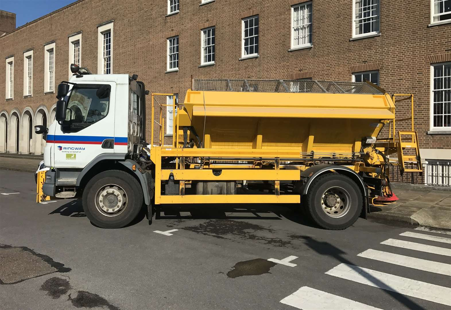 Name a Herts gritter: Can you top Gritney Spears, David Plowie or Spreadie Mercury?