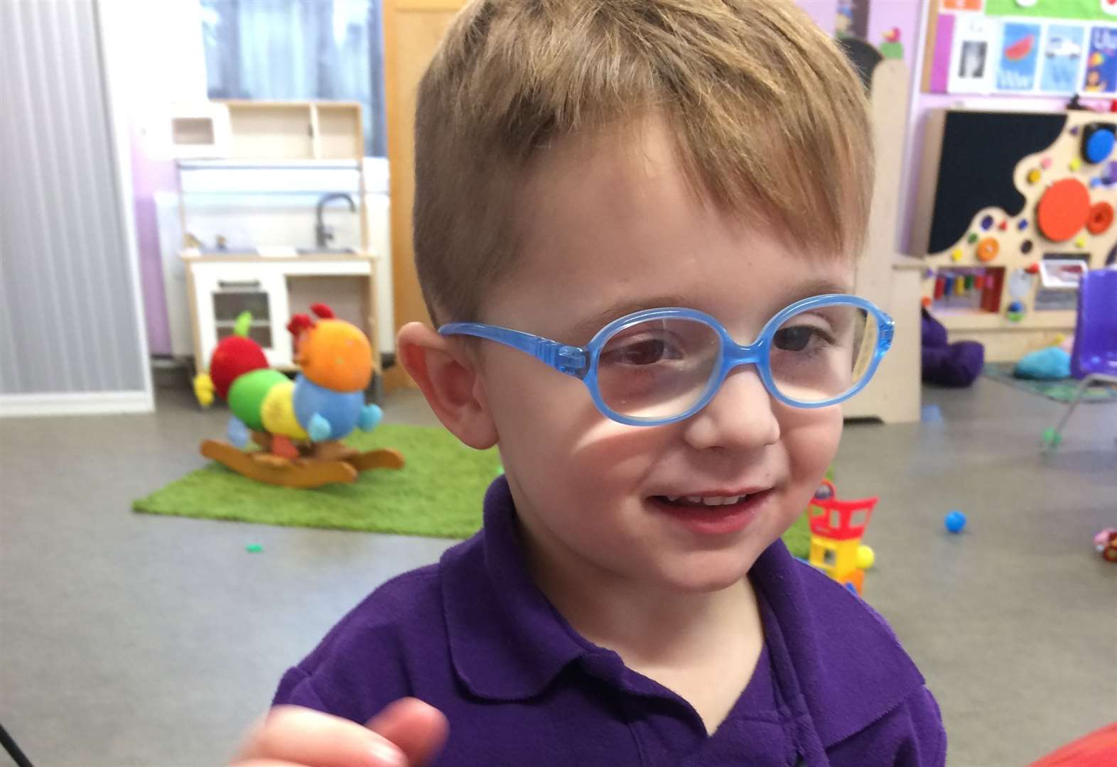Grove Cottage has saved my four-year-old son from going blind