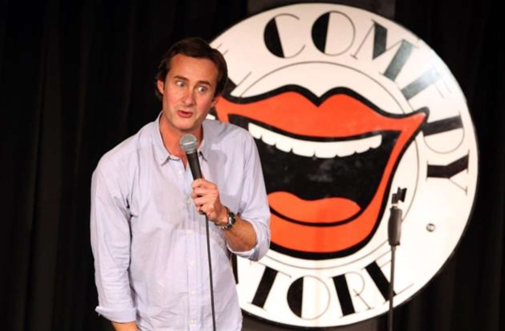 Globe-trotting Gordon Southern headlines Stortford's Laughing Bishops Comedy Club