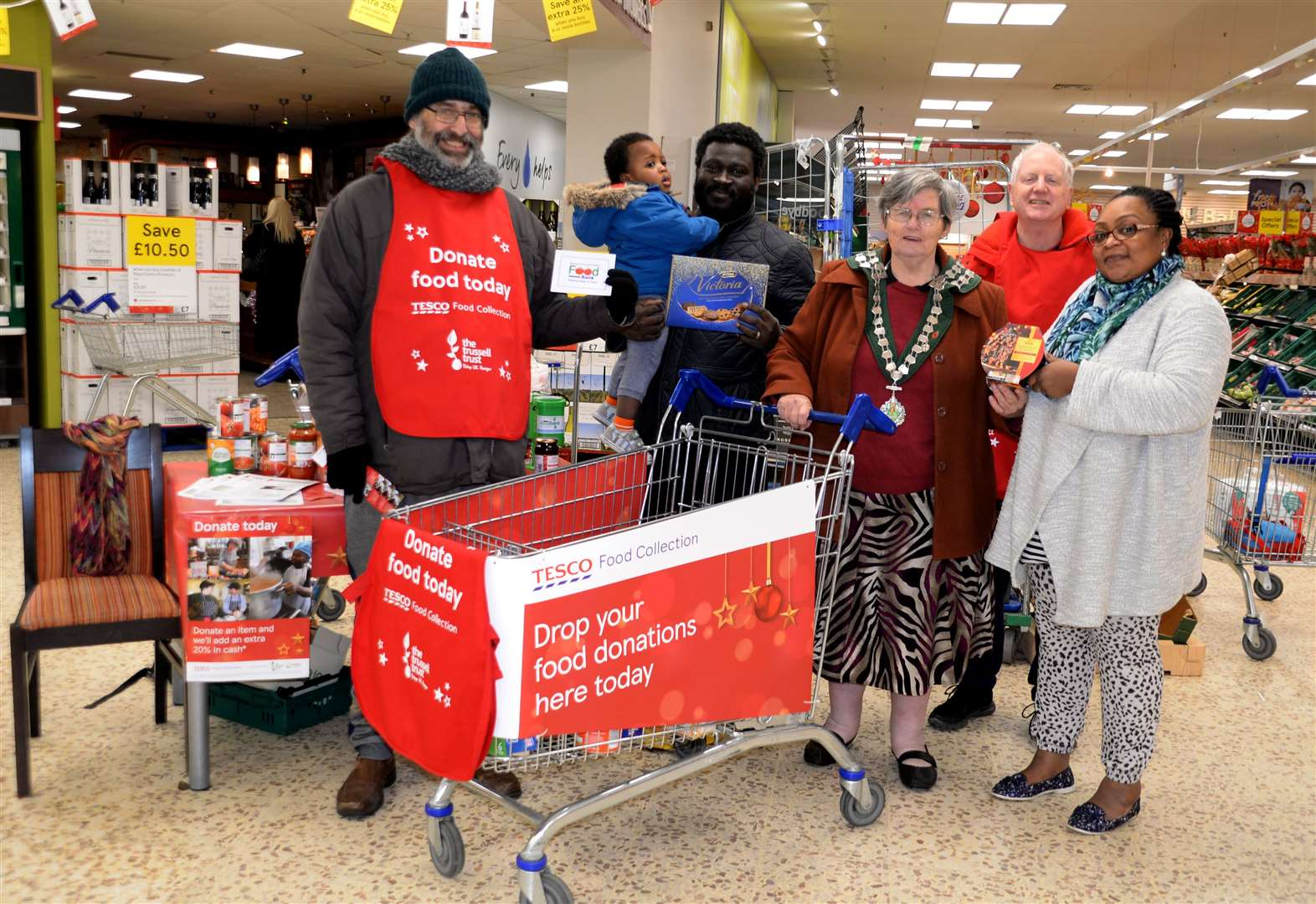 How you can help Bishop's Stortford Food Bank this Christmas
