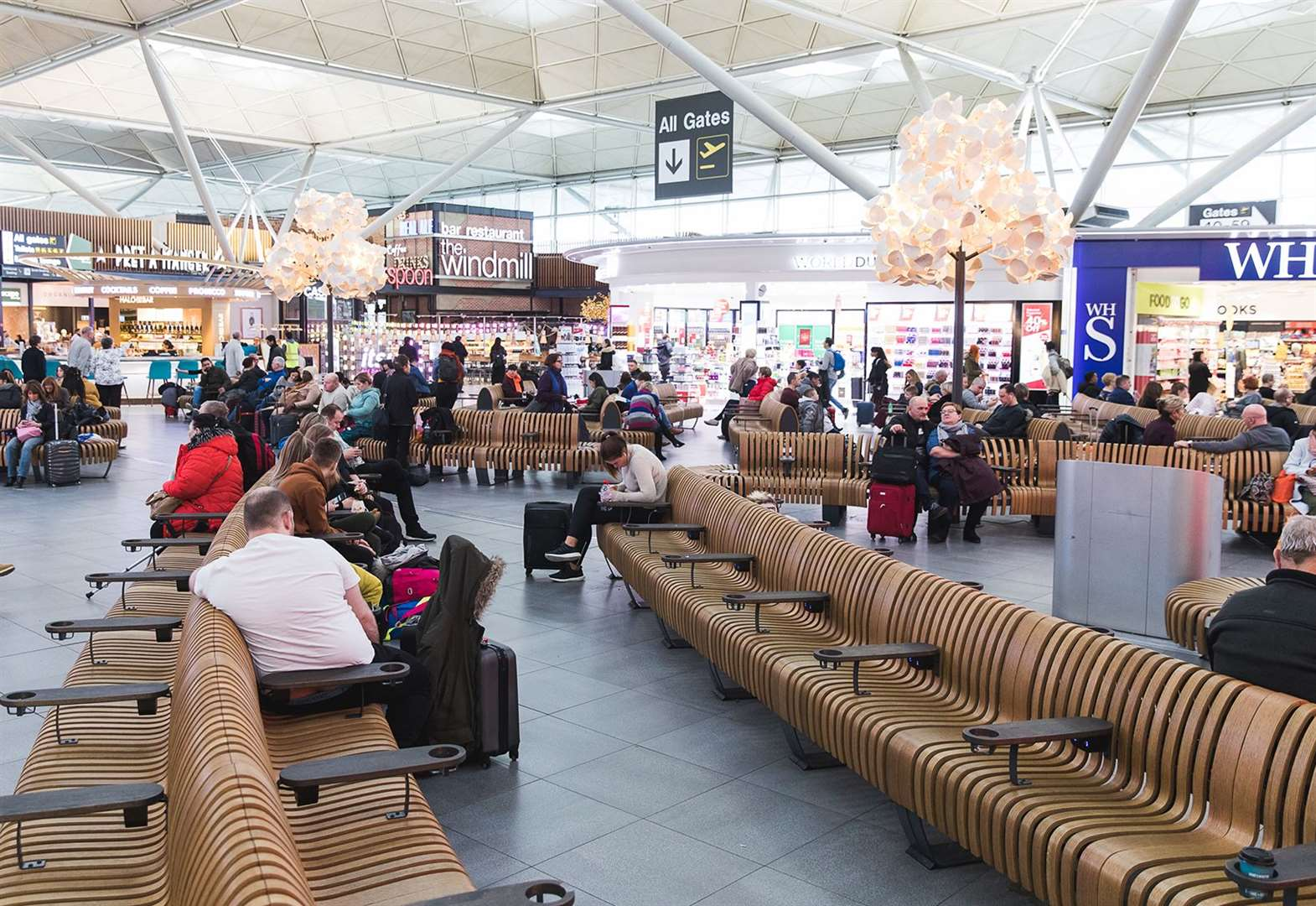 Stansted Airport passenger numbers down for first time in five years
