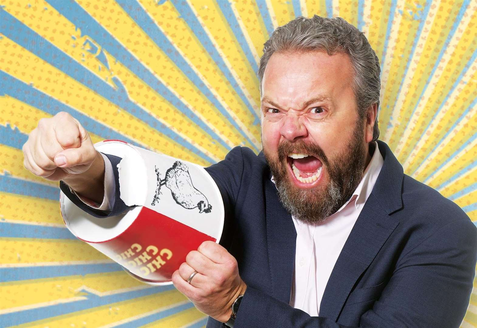 TV comedian Hal Cruttenden to play Stortford's Laughing Bishops Comedy Club