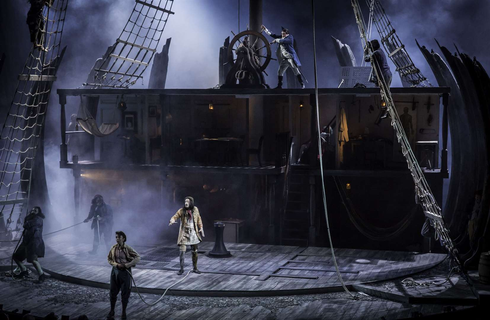 Treasure Island at the National Theatre Picture: Johan Persson/ (32951585)